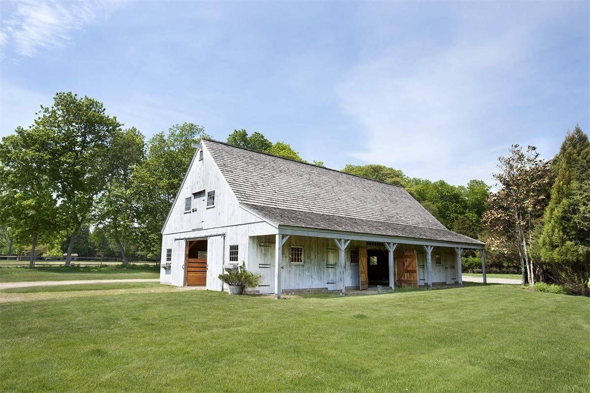 East Hampton Village world class estate, NY horse barn