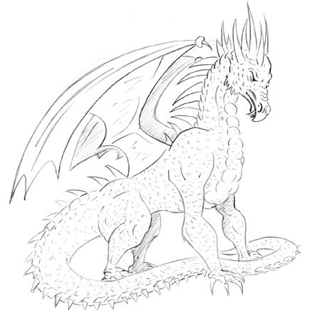COMMENT DESSINER UN DRAGON | Dragons | Pinterest | Dragons