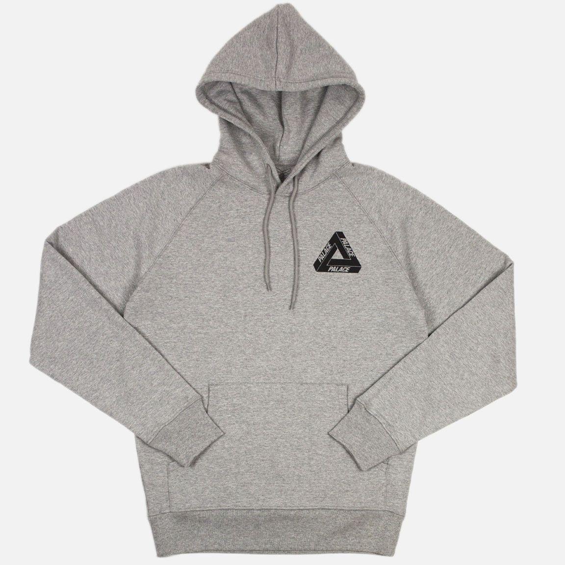 38686687 Palace Drury Yard Hooded Sweatshirt - Grey | Clothing | Grey ...
