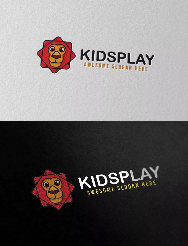 Kidsplay Logo Template AI, EPS, PSD Logo templates, Logo