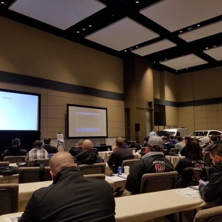 Advanced Lab Scope Diagnostic Class Conference room