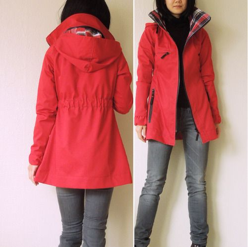 indie sewing pattern minotu jacket // waffle patterns   Clothes ...