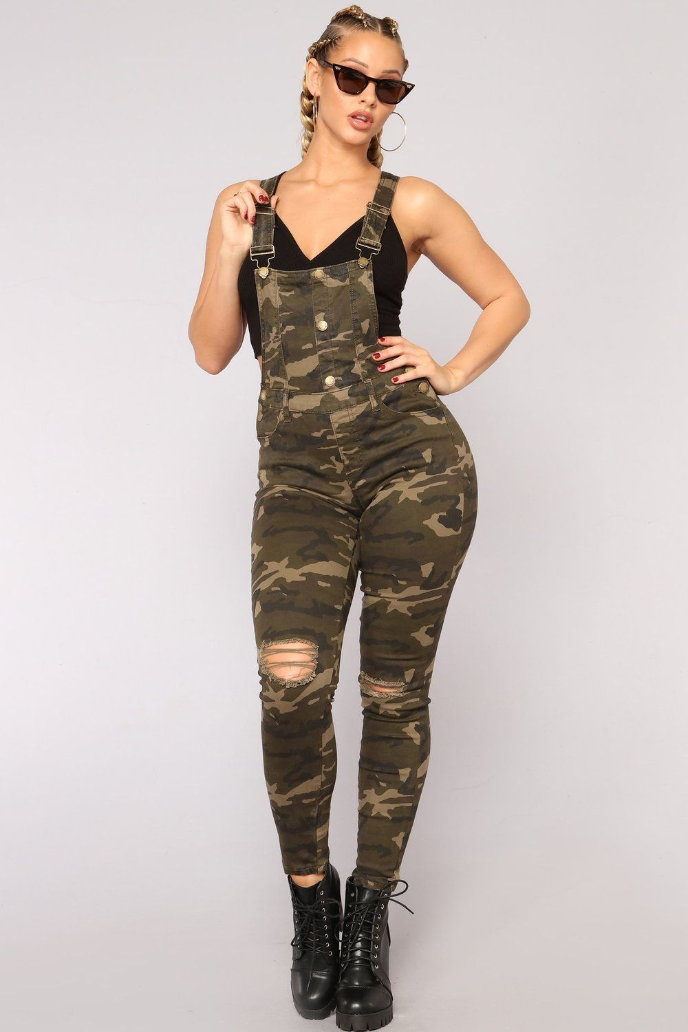 a341593093013 Stake Out Overalls - Camo in 2019 | clothes → rompers/jumpsuits ...