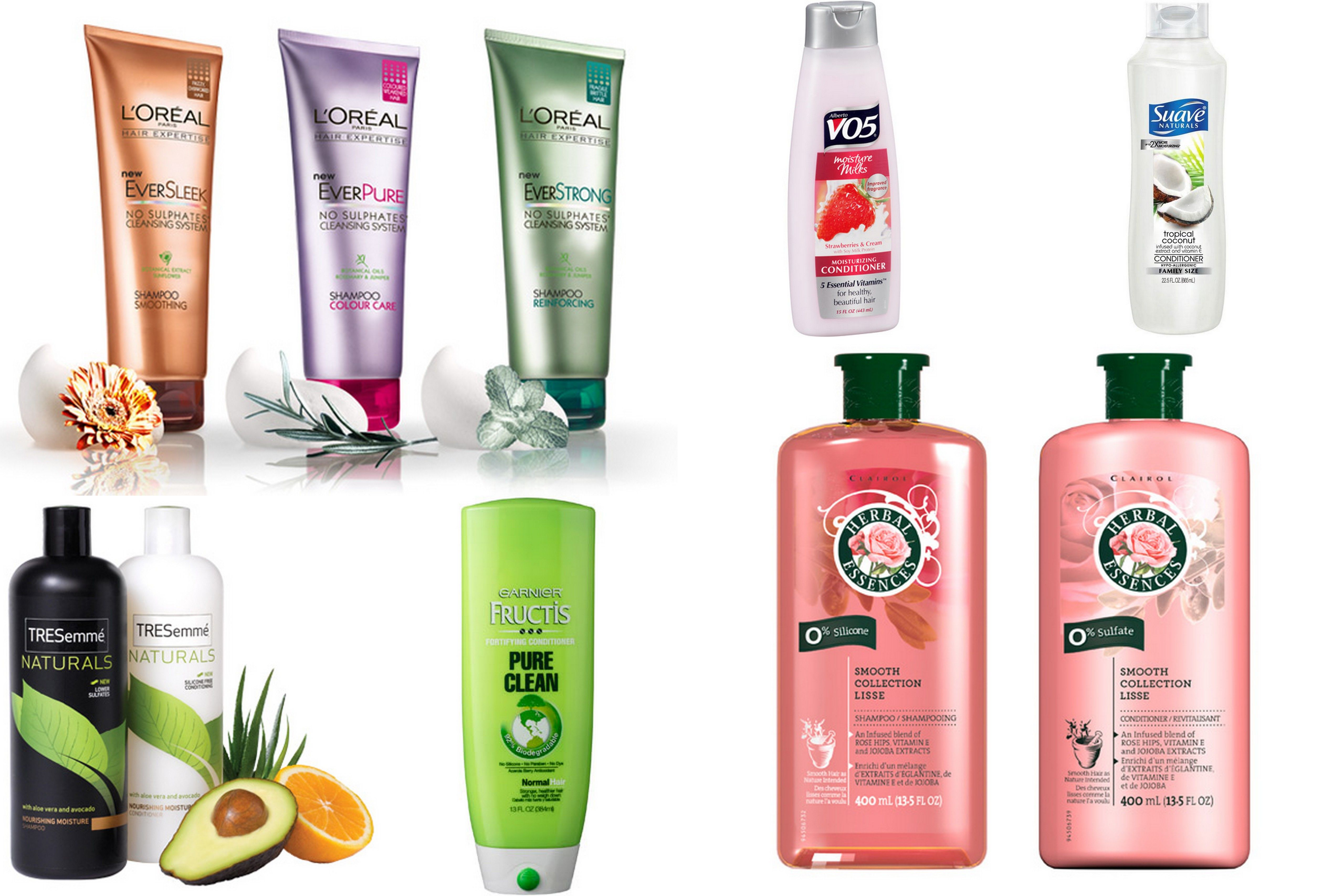 7 Drugstore Shampoos and Conditioners that are Silicone