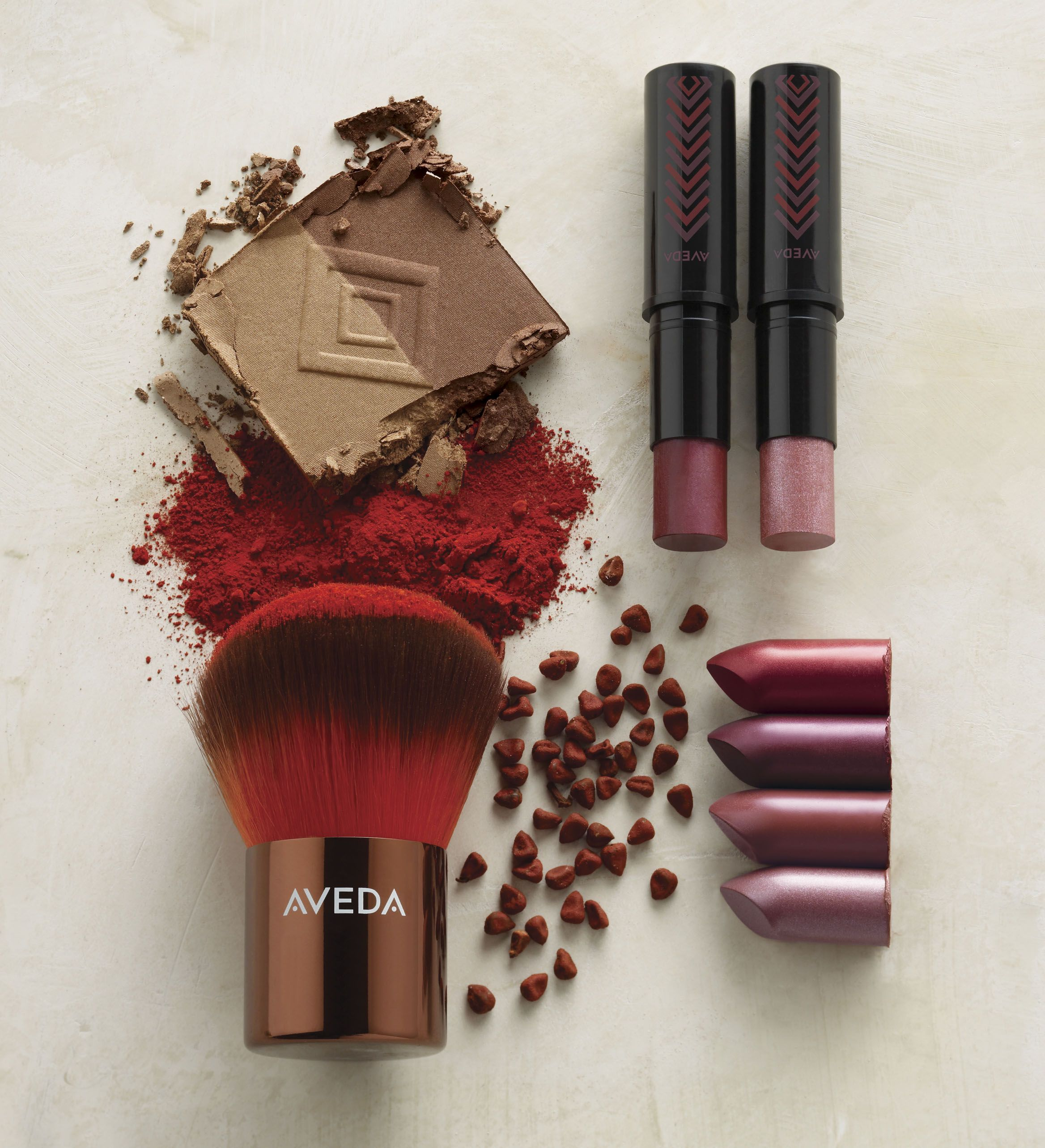 The Spa offers a variety of Aveda cosmetics.