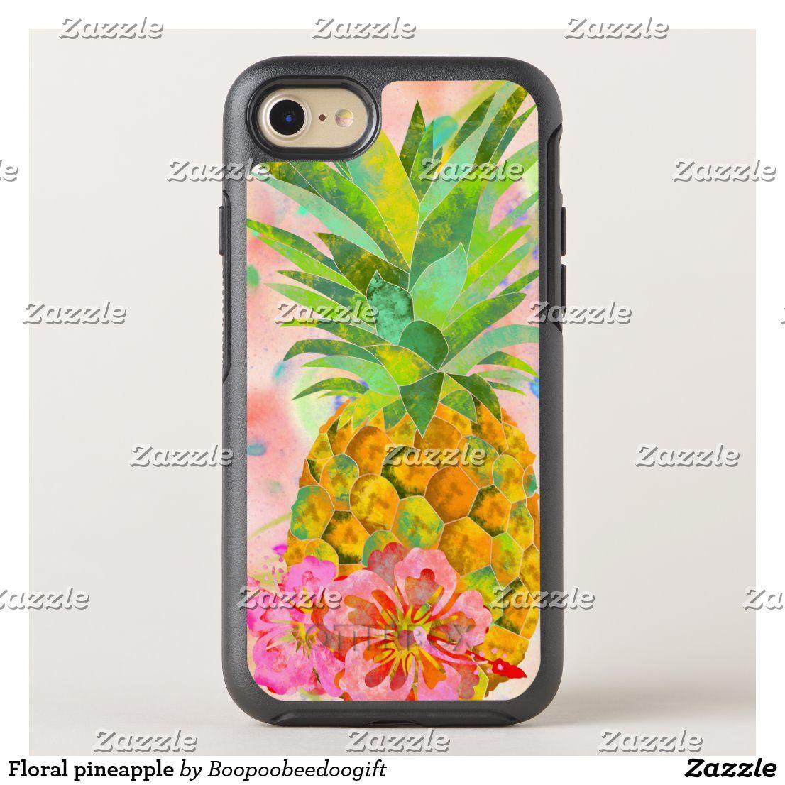 Blumen Ananas OtterBox iPhone Hülle | Zazzle.com   – Phone Cases
