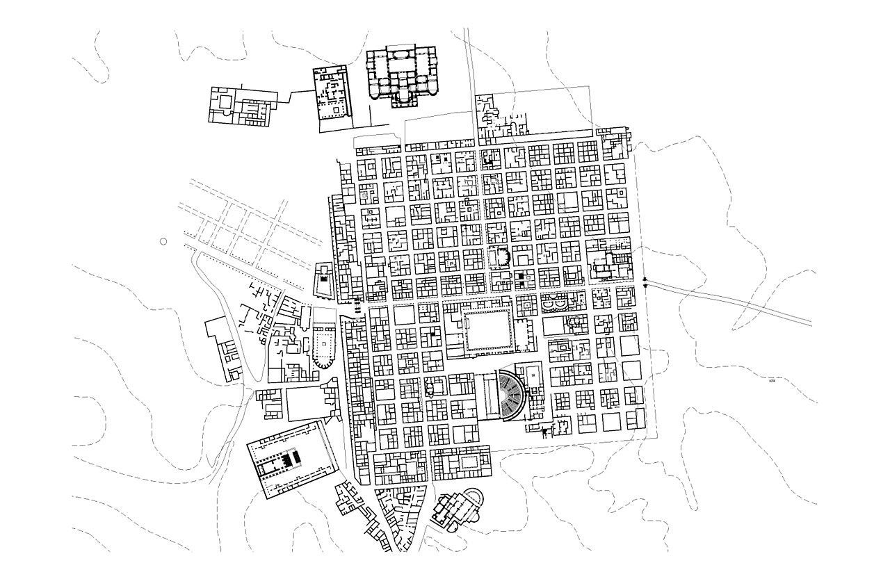 A Perfect Grid The Roman Town Of Timgad The African Pompeii