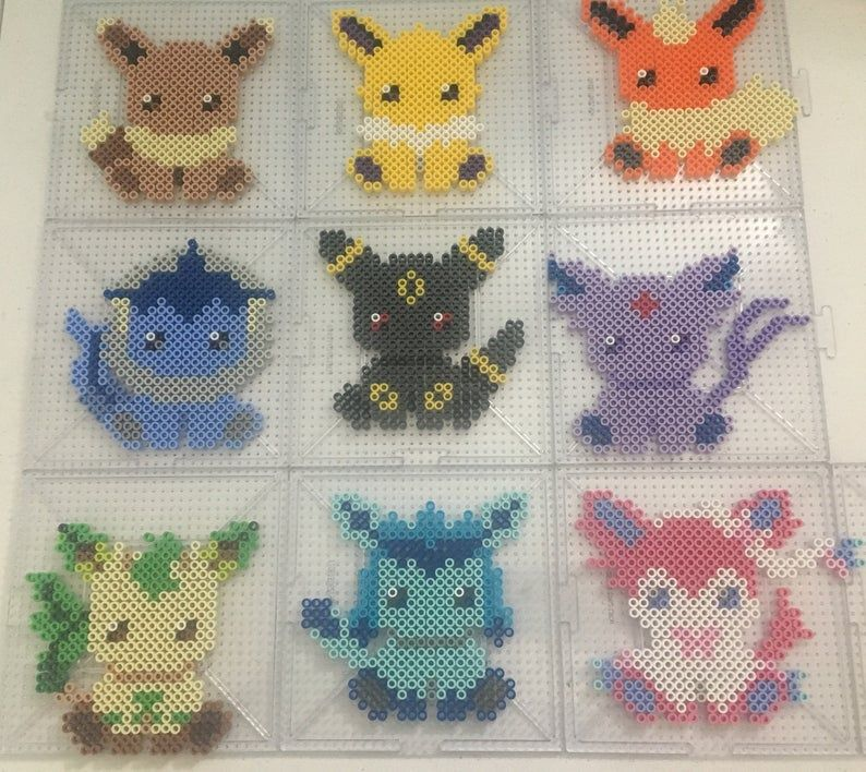 Pokemon Set 1 Christmas Pixel Baubles By 15