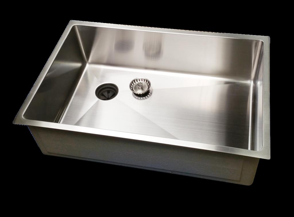 28 Sink Single Bowl Offset Drain Left 8 Depth 5s28l 8