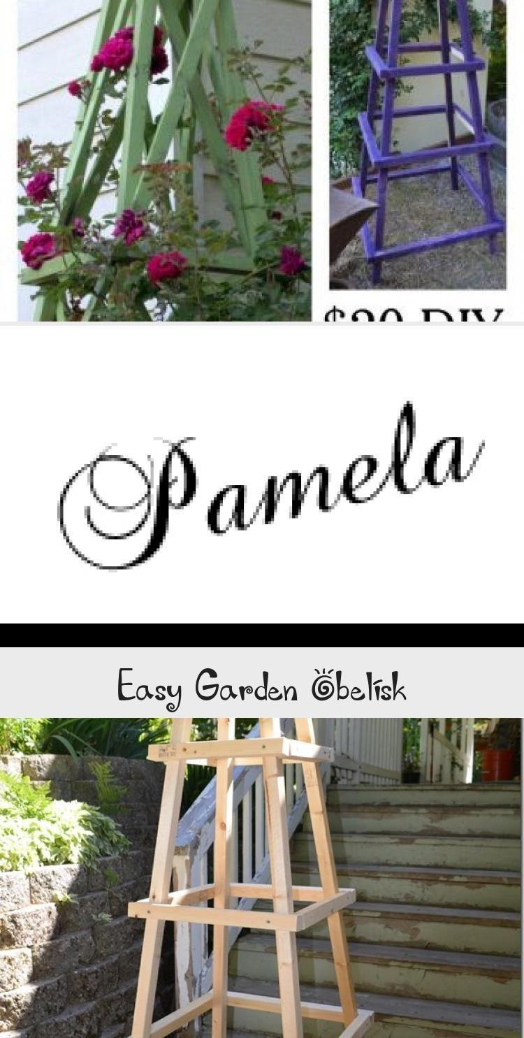 Easy to build DIY Garden Obelisk for $12, FlowerPatchFarmho