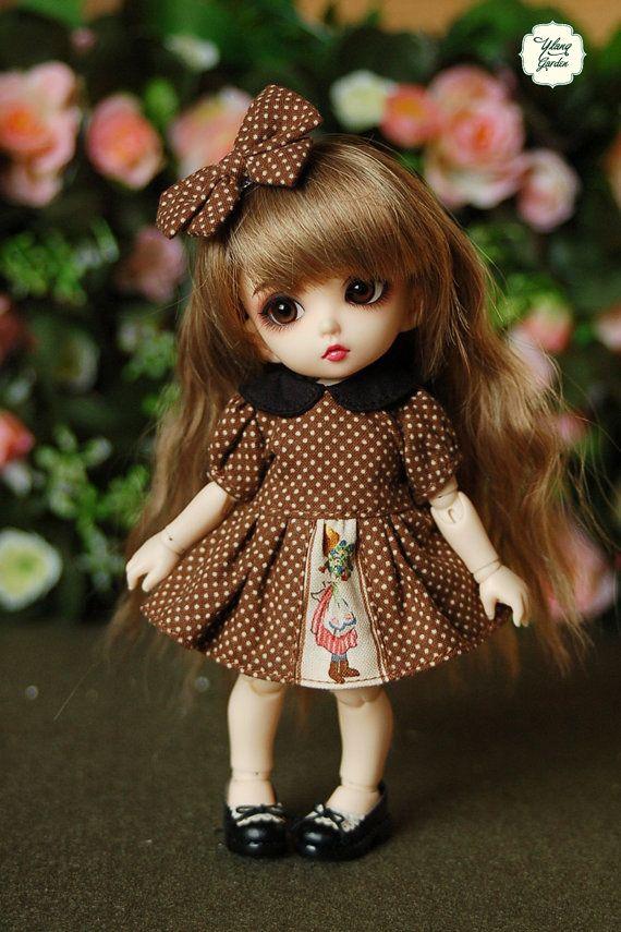 Lati yellow puki fee vintage doll polka dot black - Pics cute dolls ...