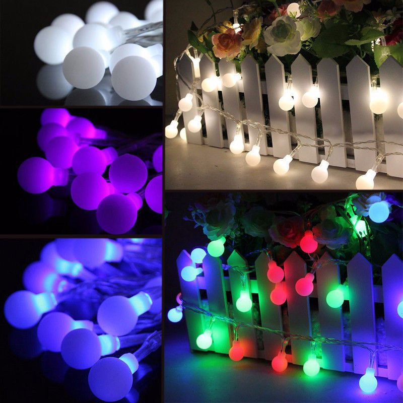 10M 100 LED Fairy String Light Berry Ball Lamp Wedding Christmas