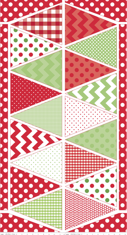 Riley Blake Holiday Christmas Banner - available at www.CaryQuilting.com