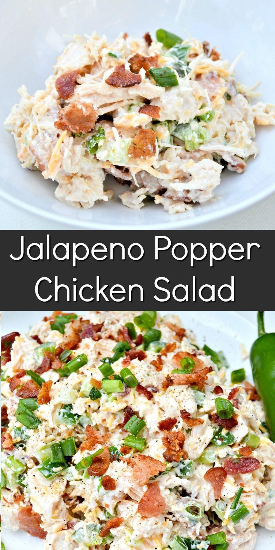 Jalapeno Popper Chicken Salad