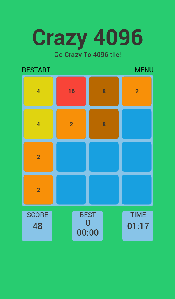 new free android game 2096 number. this game is like the 2048 but better
