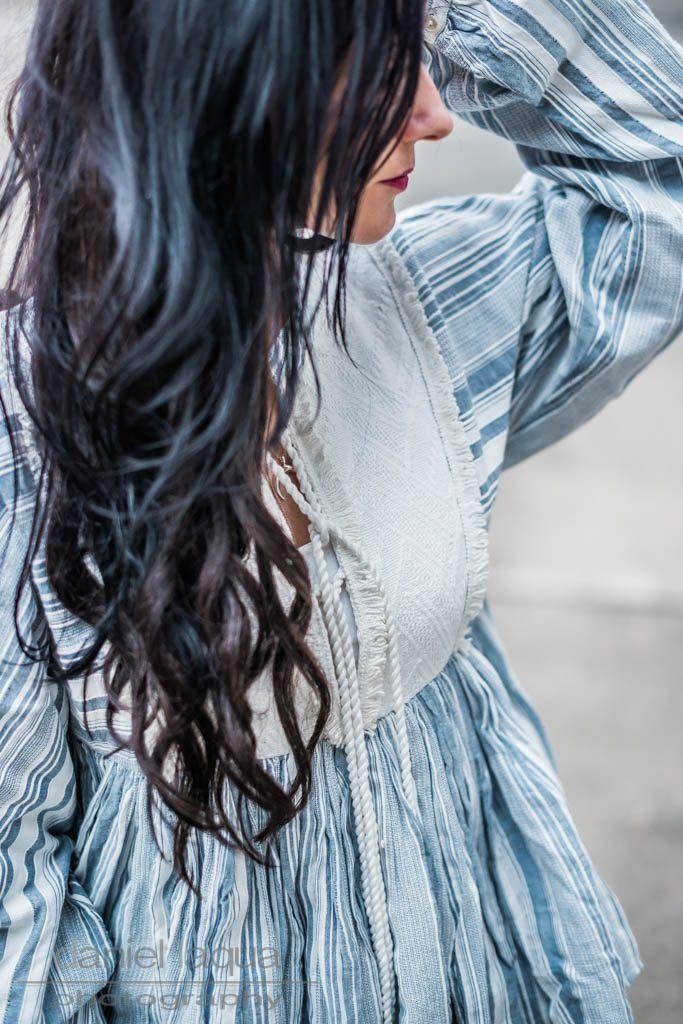 64e88e1a5aeb6 Outfit mit blau weiß gestreifter Bluse von Revel