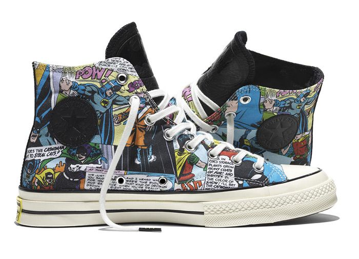 1a724f72cdc New Converse Chuck Taylor All Star Hi Top 70 DC Comics Batman Black 155359C   155359C  -  58.00   Discount Converse All Star Sneakers Sale
