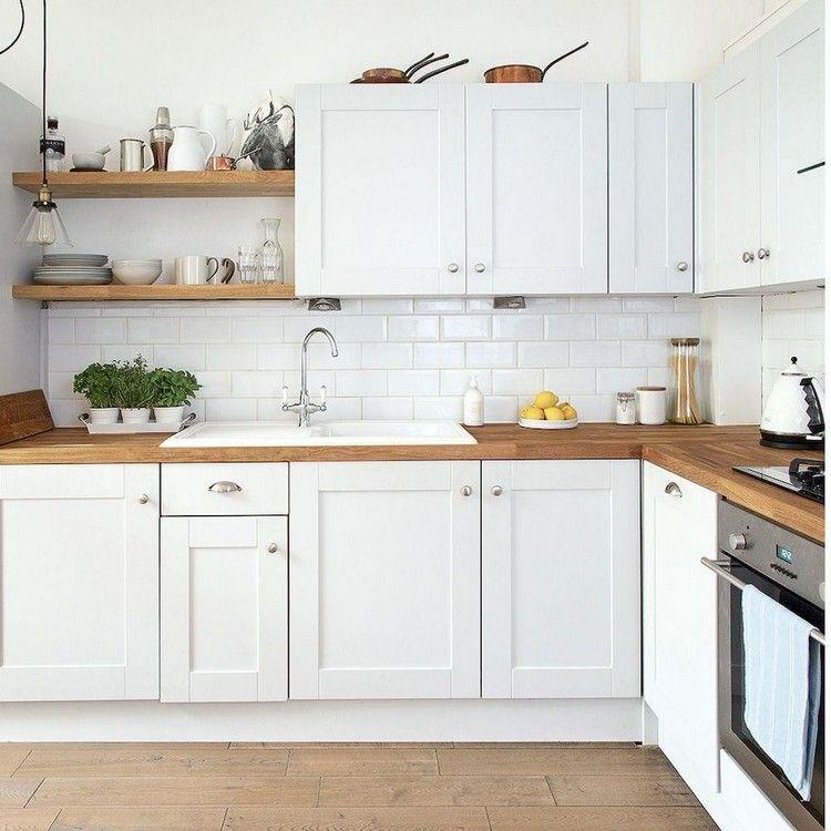 87+ Gorgeous White Kitchen Cabinet Design Ideas