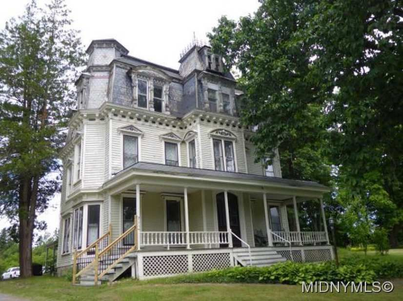 Peachy Second Empire Waterville Ny 129 900 Old House Dreams Download Free Architecture Designs Itiscsunscenecom