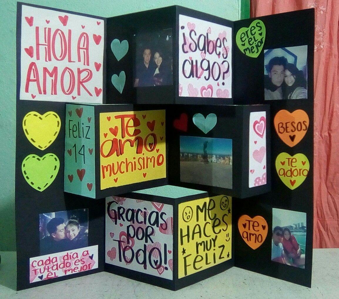Carta De Amor Para Mi Novia Regalos Boyfriend Gifts Ideas