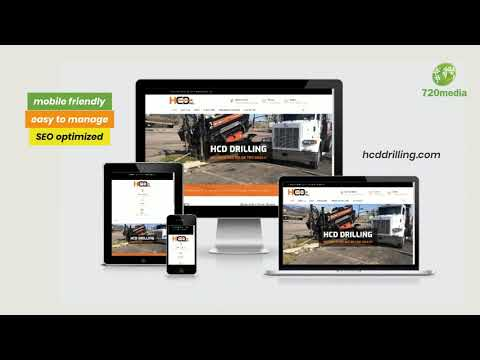 Coloradosprings Website Design For Local Drilling Company By 720media Https Www 720media Com Portfolio In 2020 Web Design Marketing Website Design Colorado Springs