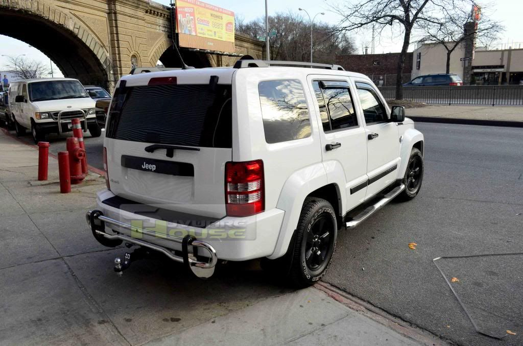 Custom Jeep Liberty Bumpers Details About Dodge Nitro Jeep Liberty Stainless S S Rear Bumper Guard Dodge Nitro Jeep Liberty Custom Jeep