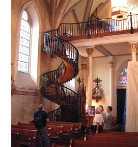 Best Curly Stair Loretto Chapel Sante Fe New Mexico New Mexico 400 x 300