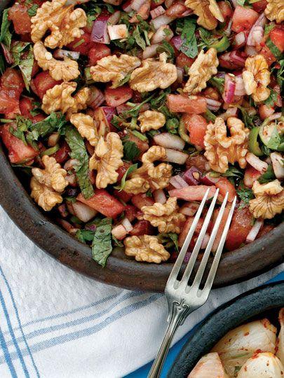 Gavurdagi Salatasi Tarifi Turk Mutfagi Yemekleri Yemek Tarifleri