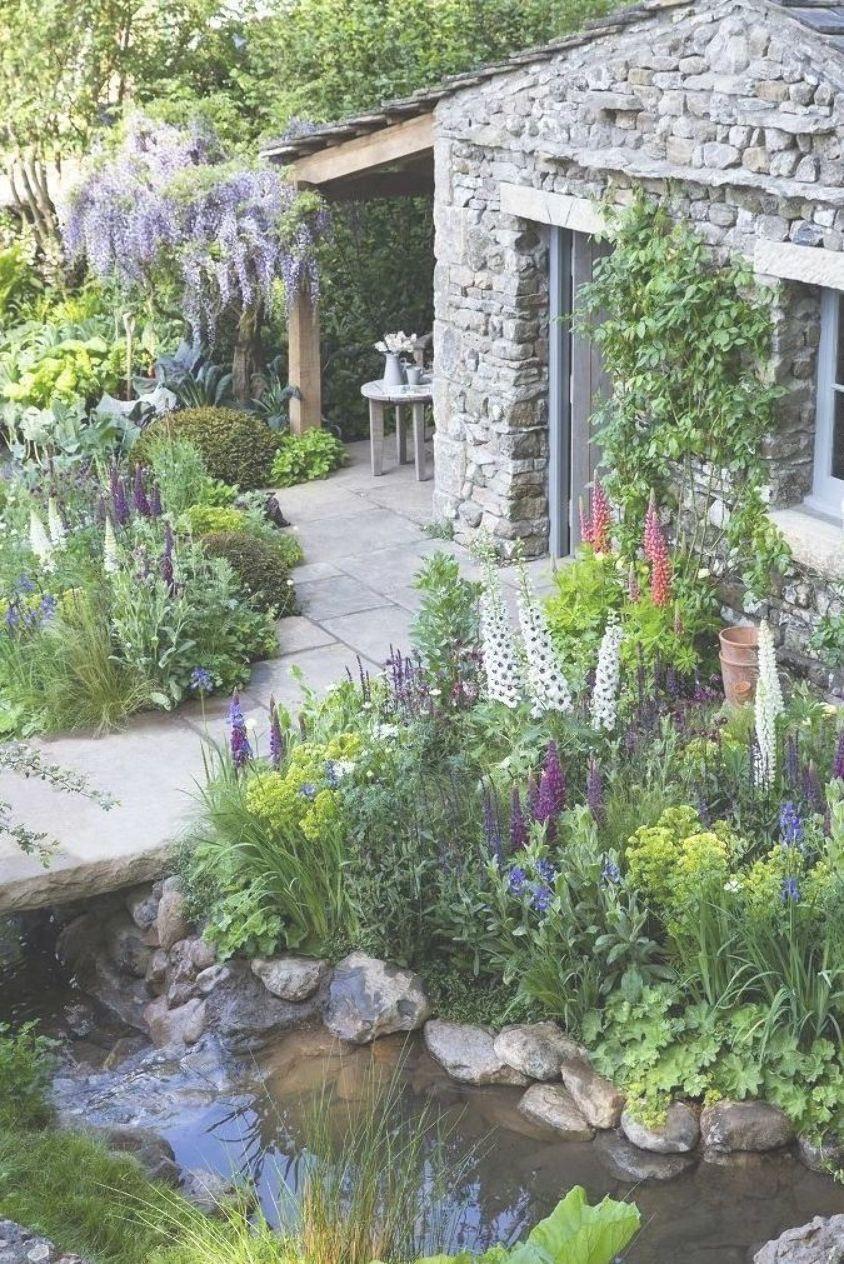 Yorkshire Garden, conçu par un ancien étudiant du Collège ...