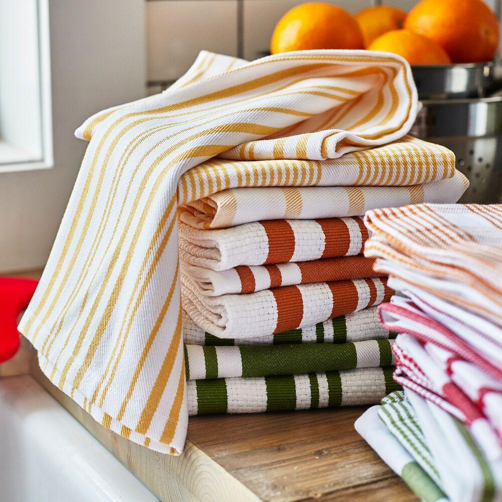 Striped Kitchen Towels 28 X 20 Set Of 3 Sur La Table In 2021 Kitchen Towels Kitchen Towel Set Harvest Kitchen