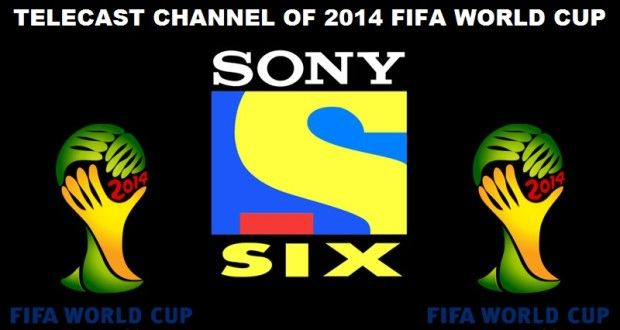 Telecast channels of FIFA World cup 2014