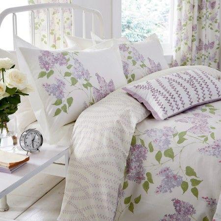 Lilac Floral Bedding By Sanderson At Bedeck 1951 Bed Design