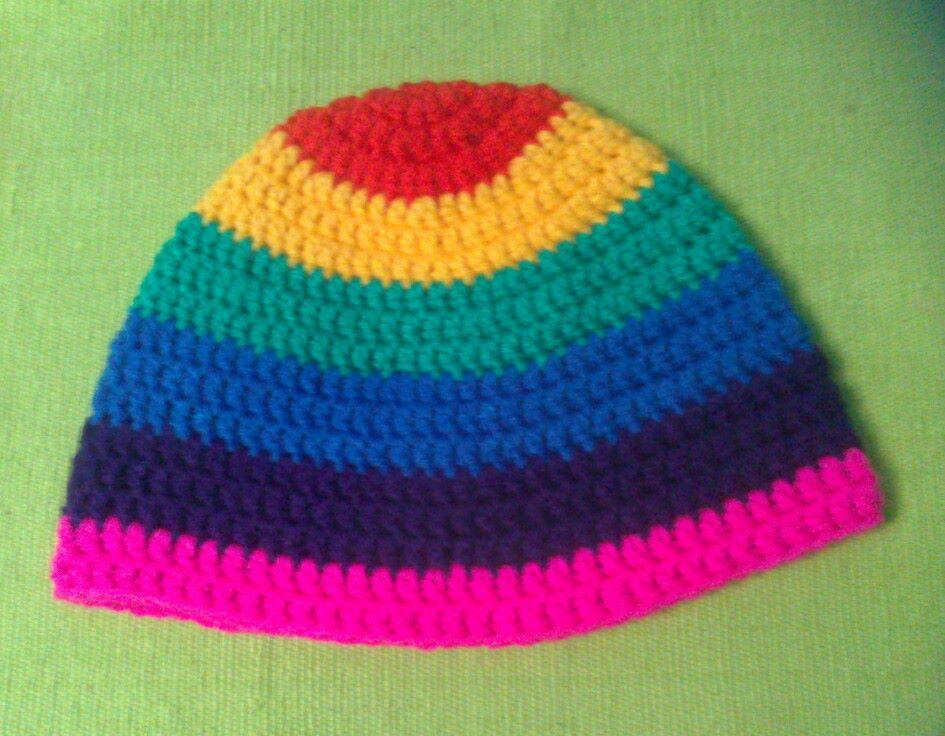 Gorro multicolor unisex