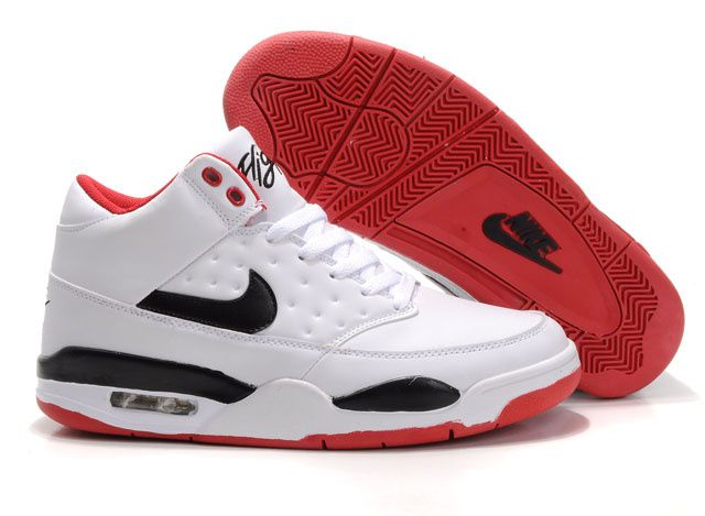2012 New Design Air Flight Classic White-Red