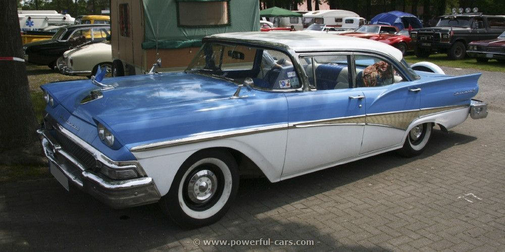 1958 Ford Fairlane 4 Door. | Cars from the 1950\'s. | Pinterest ...
