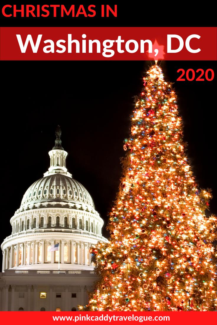 Christmas In Washington Dc Christmas Travel Usa Travel Destinations Holiday