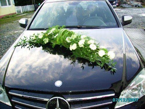 Autoschmuck Hochzeit Wedding Pinterest Floral Arrangement