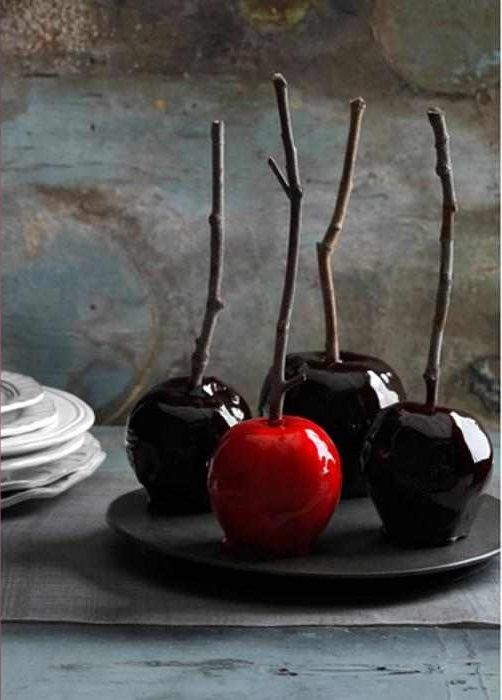 Decadently Dark Candy Apples and Country Living\'s Spooky   Food ...