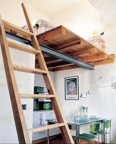 Altillos distribuir en dos niveles altillo c lculo y - Habitaciones con escaleras ...
