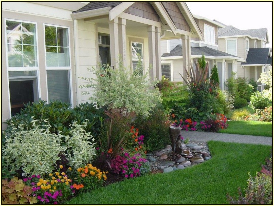 Image Result For Evergreen For Front Of House Front House Landscaping Garden Front Of House Front Yard Landscaping Design