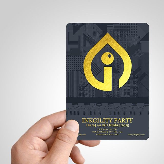 PLASTIC FLYERS ARE HERE!!! Gold Foil on your Plastic #Flyer #Flier #Invitation, or #Postcard from @inkgility... We have over 300 unique printed products... Send us an email now at sales@inkgility.com