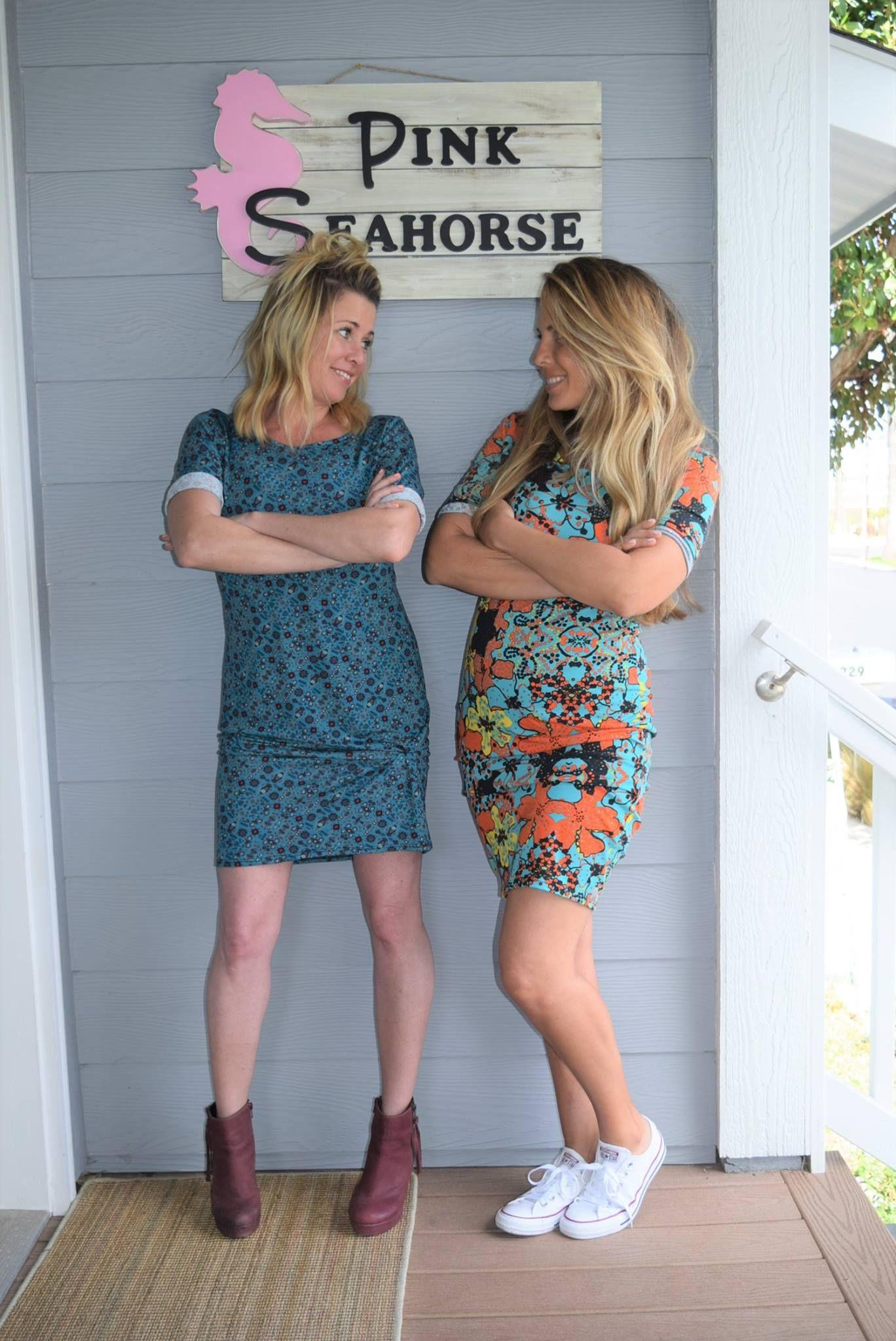 Love these LuLaRoe girls wearing their Julia's!