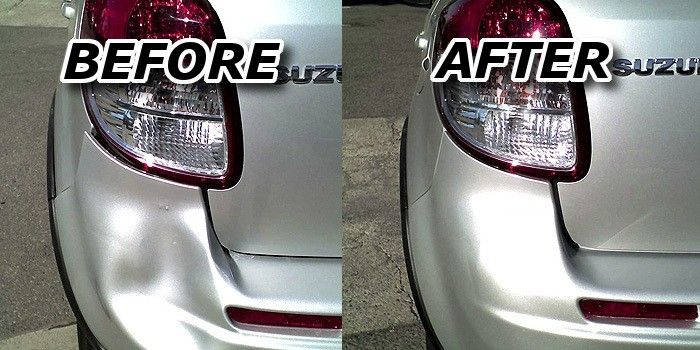 car bumper repair diy