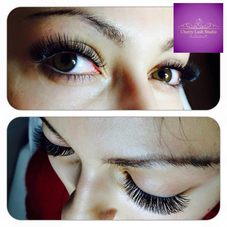 Another Beautiful Eyelashextensions Set Made Here In The Sunny