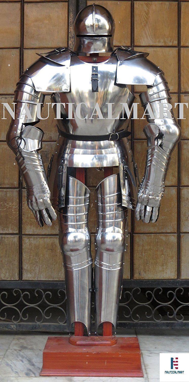 Nauticalmart Gothic Medieval Knight Full Suit Of Armor Wearable Costume Suit Of Armor Medieval Knight Armor