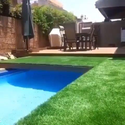 Hidden pool | Backyard pool, Small backyard pools ...