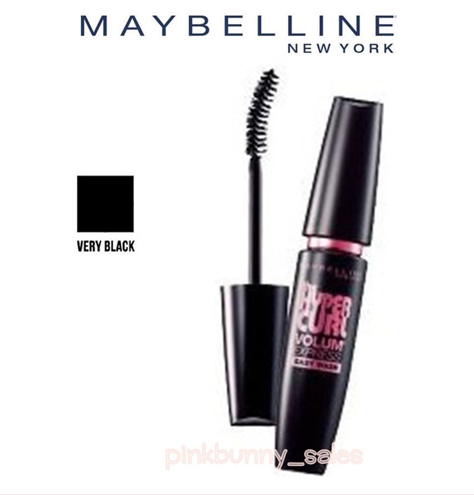 7f8fdf66ce6 New Maybelline Volum Express Hypercurl Mascara Eyelashes Curl Sticks Women  Black #MaybellineNewYork