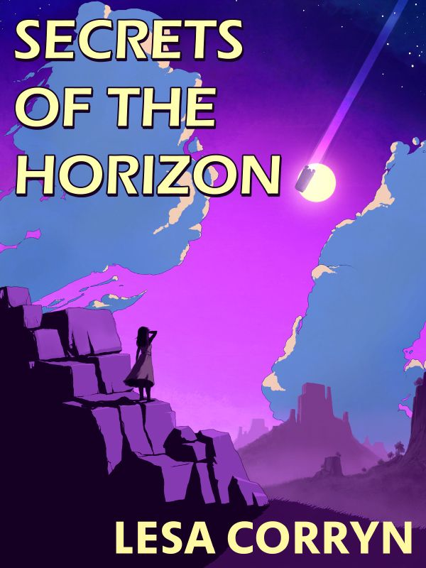 Secrets of the Horizon by Lesa Corryn - War sits on the horizon and only Jek, guided by his haunted visions, can find the truth needed to stop it.