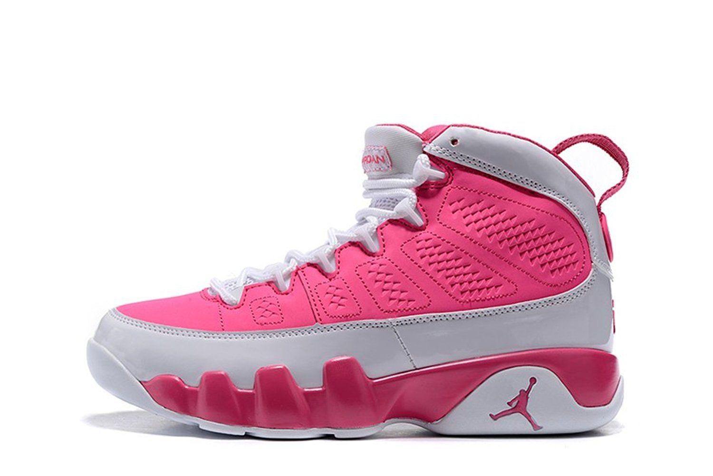 Jordan 9 generation white, pink QA123