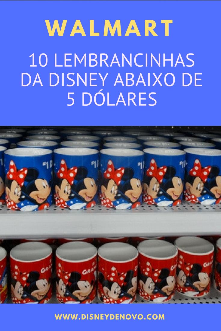 41d3980e6f Confira lembrancinhas da Disney baratas vendidas no Walmart em Orlando   orlandoviagem  disney  orlandodicas  orlandodicascompras  disneyviagem